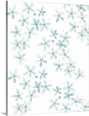 Watercolor Forget Me Nots