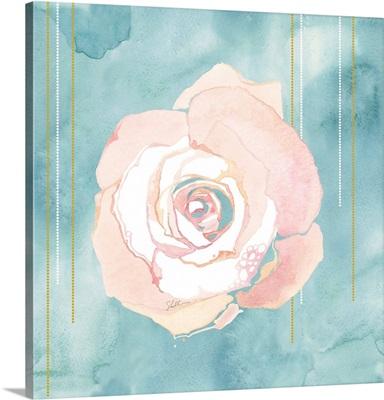 Watercolor Painted Rose