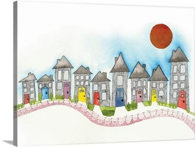 Watercolor Street