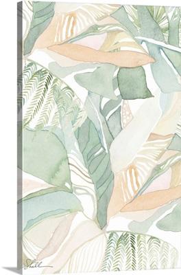Watercolor Tropical Foliage II