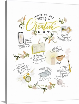 Ways To Get Out Of A Creative Rut