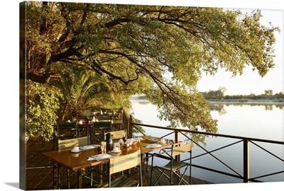 Africa, Namibia, Okavango river, Mahangu Safari lodge
