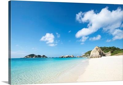 Aharen Beach, Tokashiki Island, Kerama Islands Group, Okinawa, Japan