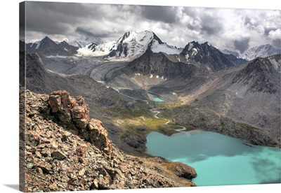Ala Kul (Ala Kol) lake (3560 m), Issyk Kul oblast, Kyrgyzstan