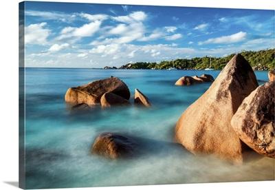 Anse Lazio Beach, Praslin, Seychelles,