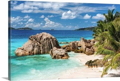Anse Patate Beach, La Digue, Seychelles