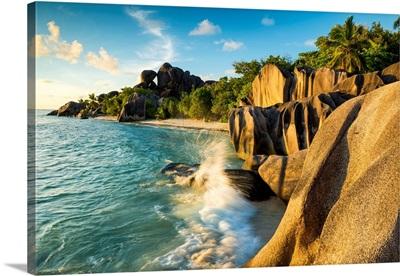 Anse Source D' Argent, La Digue, Seychelles
