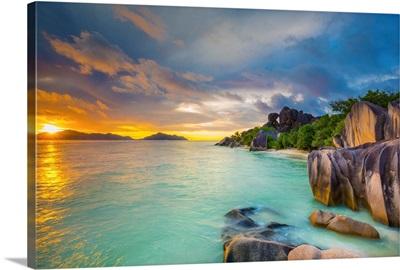 Anse Source d'Argent beach, La Digue, Seychelles