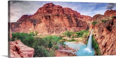 Arizona, Gran Canyon, Havasu Canyon (Hualapai Reservation), Havasu Falls