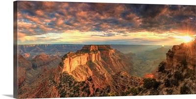 Arizona, Grand Canyon National Park, North Rim, Cape Royale