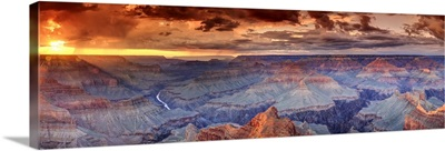 Arizona, Grand Canyon National Park (South Rim), Colorado River from Mohave Point