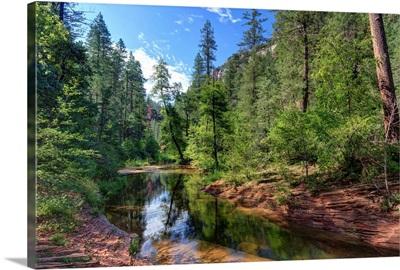 Arizona, Sedona, Oak Creek Canyon, West Fork Trail