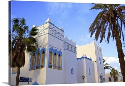 Art Deco Architecture, Sidi Ifni, Morocco, North Africa