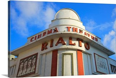 Art Deco Rialto Cinema, Casablanca, Morocco, North Africa
