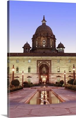 Asia, India, Delhi; the Secretariat - parliament buildings