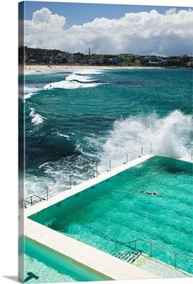 Australia, New South Wales, Sydney, Bondi Beach, Bondi Icebergs Swimming Club Pool