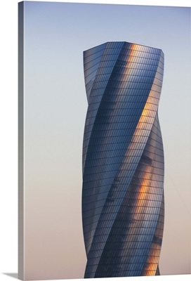 Bahrain, Manama, Bahrain Bay, United Tower also called The twisting tower