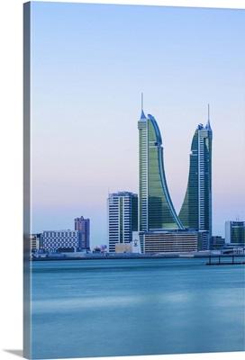 Bahrain, Manama, Bahrain Financial Harbour, Harbour Towers