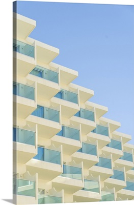 Balcony Abstract In Protaras, Famagusta District, Cyprus