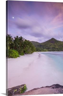 Beach in southern Mahe, Seychelles
