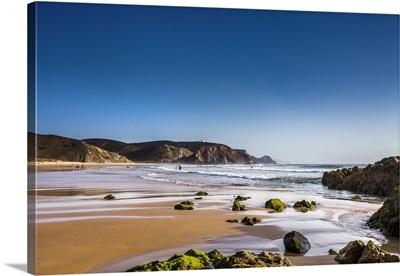 Beach, Praia da Amado, Costa Vicentina, Algarve, Portugal