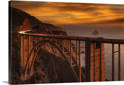 Bixby Creek Bridge, Monterey, Big Sur, California, USA