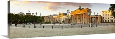 Brandenburg Gate, Platz des 18 Marz 1848, Berlin, Germany