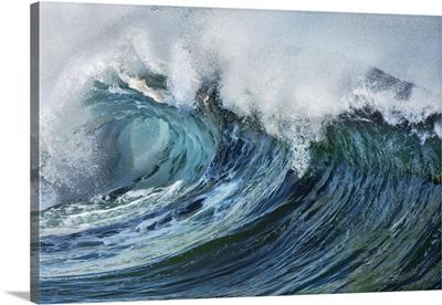 Breaking Wave, USA, Hawaii, Oahu, Waialua, North Shore, Sunset Beach, Ke Iki Beach