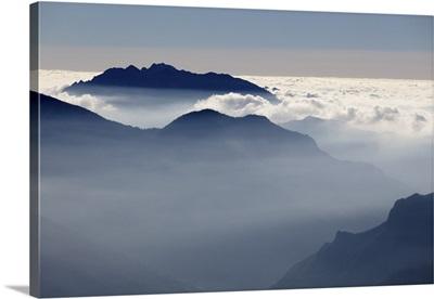 Brembana valley, Orobie Alps, Lombardy, Italy. Landscape from Avaro plains