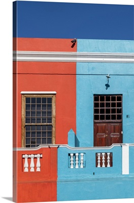 Brightly Coloured Homes In Bo-Kaap District, Cape Town, Western Cape, South Africa