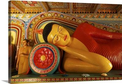 Buddha Statue, Isurumuniya, Anuradhapura, Sri Lanka