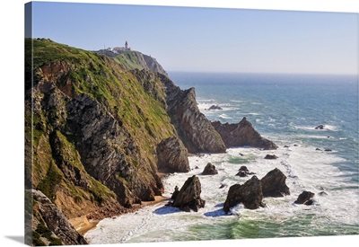 Cabo da Roca, the most western point of continental Europe, Portugal