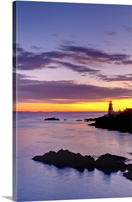 Canada, New Brunswick, Campobello Island, East Quoddy (Head Harbour) Lighthouse