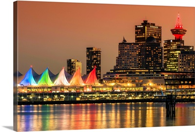 Canada Place and Harbour Centre building, Vancouver, Canada