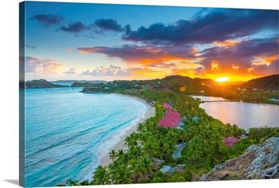 Caribbean, Antigua, Galley Bay, Galley Bay Beach, Sunrise