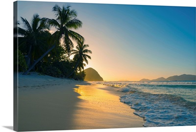 Caribbean, British Virgin Islands, Tortola, Long Bay, Long Bay Beach
