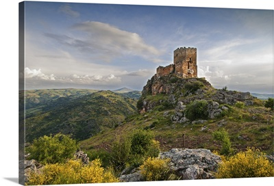 Castle of Algoso from the 12th century, Tras os Montes, Portugal