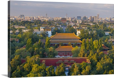 China, Beijing, Jingshan Park