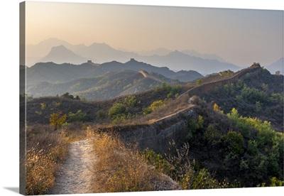 China,  Beijing Municipality, Great Wall of China Gubeikou to Jinshanling section