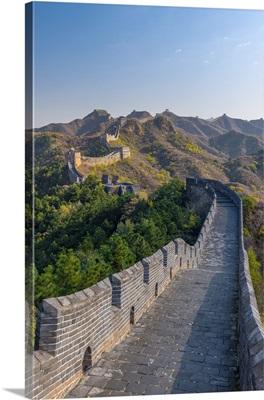 China, Hebei Province, Jinshanling, Great Wall of China from Ming Dynasty