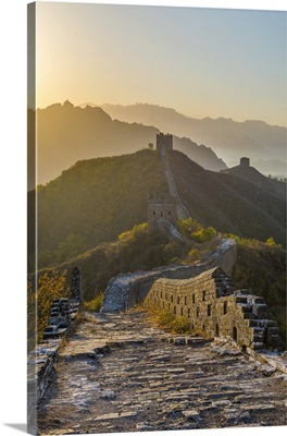 China, Hebei Province, Jinshanling, Great Wall of China Jinshanling section