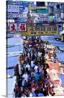China, Hong Kong, Kowloon, Mongkok, Fa Yuen Street Market