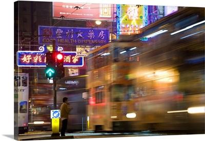 China, Hong Kong, Trams