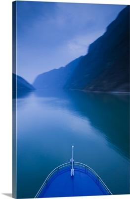 China, Hubei Province, Yangtze River, Wu Gorge