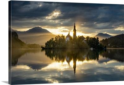 Church Of The Assumption, Lake Bled, Slovenia