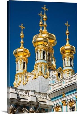 Church of the Resurrection, The Catherine Palace, Pushkin near St Petersburg, Russia