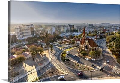 City Skyline, Windhoek, Khomas, Namibia