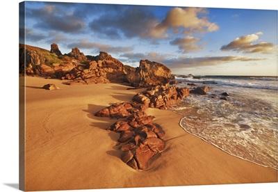 Coast Landscape Near Moses Rock, Australia, Southwest, Leeuwin Naturaliste National Park