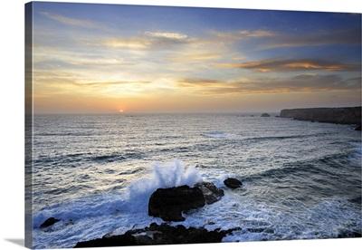 Coastline of Carrapateira, Sudoeste Alentejano and Costa Vicentina Nature Park, Portugal