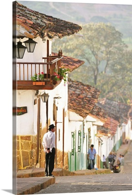 Colonial Town of Barichara, Colombia, South America